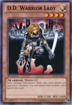 D.D. Warrior Lady (Version 2 - Rare)
