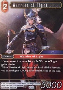 Warrior of Light (7-131)