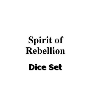 Spirit of Rebellion: Dice Set