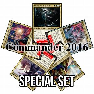 Set de cartas oversize de Commander 2016