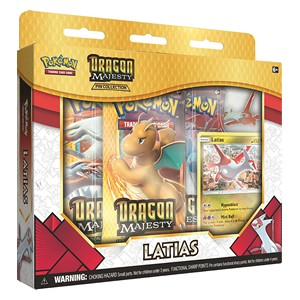 Majestad de Dragones: Colleccion Latias Pin