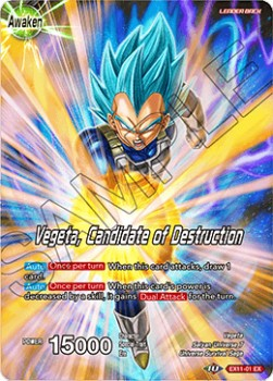 Vegeta // Vegeta, Candidate of Destruction