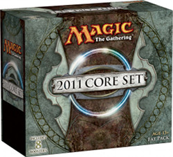 Caja de Fat Pack de Magic 2011 vacia