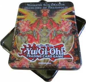 Collector's Tins 2012: Empty Hieratic Sun Dragon Overlord of Heliopolis Tin