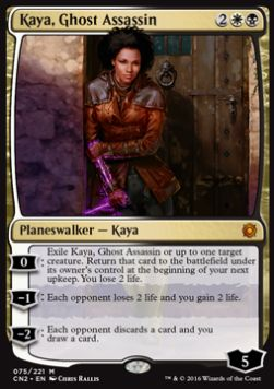 Kaya, Ghost Assassin (Version 1)