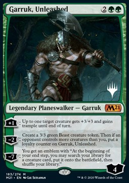 Garruk, Unleashed (V.1)