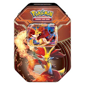 Kalos Power Tins: Delphox Tin