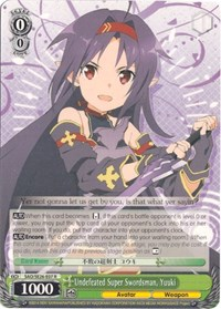 Undefeated Super Swordsman, Yuuki (V.2 - Parallel Foil)