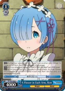 A Flower in Each Arm, Rem