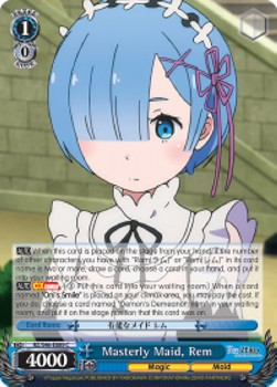 Masterly Maid, Rem