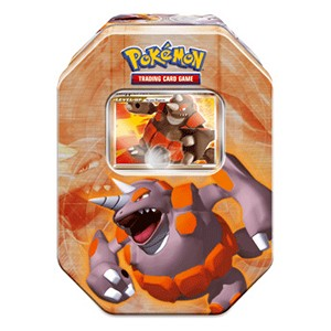 2008 Fall Collector's Tins: Rhyperior LV.X Tin