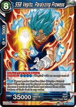 SSB Vegito, Paralyzing Prowess