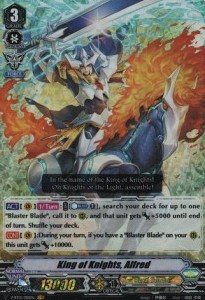 King of Knights, Alfred (Version 1 - Vanguard Rare)
