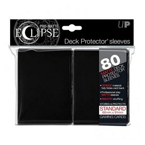 80 Ultra Pro Pro-Matte Eclipse Sleeves (Black)
