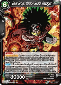 Dark Broly, Demon Realm Ravager