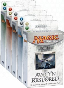 Avacyn Restored Intro Pack Set of 5
