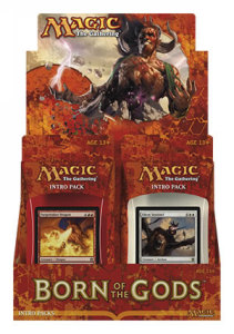 Caja de Intro Packs de Born of the Gods