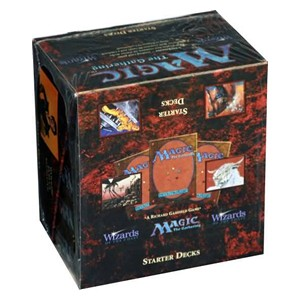 Foreign Black Bordered: Starter Deck Box