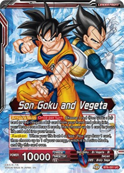 Son Goku and Vegeta // SSB Gogeta, Fusion Perfected