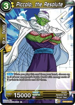 Piccolo, the Resolute (Version 1 - Common)