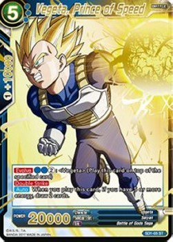 Vegeta, Prince of Speed