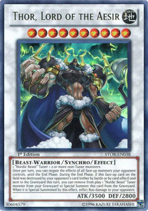 Thor, Lord of the Aesir (V.1 - Ultra Rare)