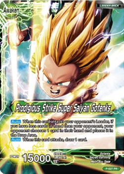 Gotenks // Prodigious Strike Super Saiyan Gotenks