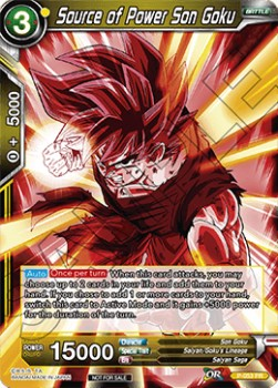 Source of Power Son Goku