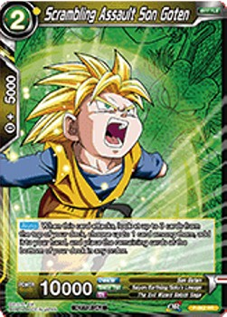 Scrambling Assault Son Goten (Version 2 - Promo)
