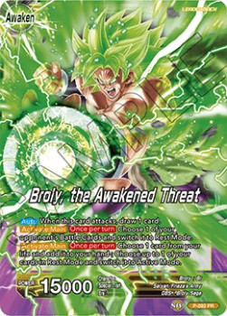 Broly // Broly, the Awakened Threat