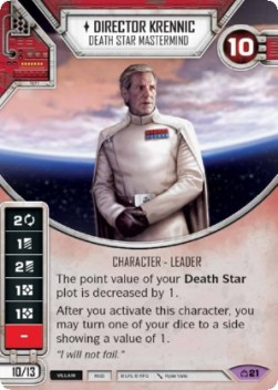 Director Krennic - Death Star Mastermind