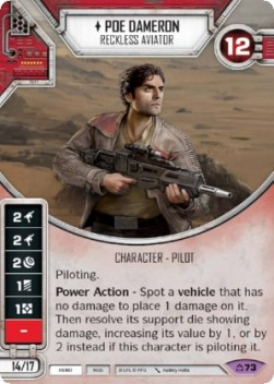 Poe Dameron - Reckless Aviator