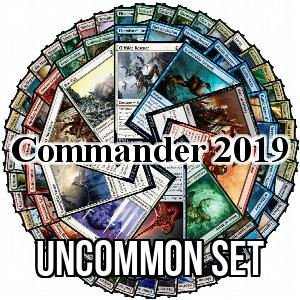 Set de Uncommons de Commander 2019