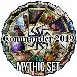 Commander 2019: Mythic Set