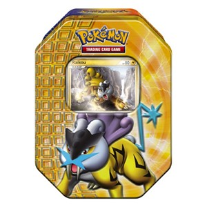 2010 Fall Collector's Tins: Raikou Tin