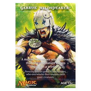 Magic 2011: Garruk Wildspeaker Sample Deck