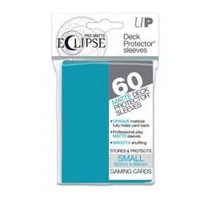 60 Small Ultra Pro Pro-Matte Eclipse Sleeves (Sky Blue)
