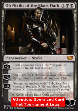 Ob Nixilis of the Black Oath (V.2)