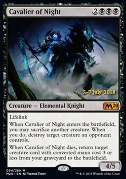 Cavalier of Night (V.2)