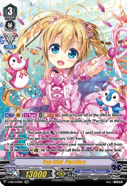 Top Idol, Pacifica (Version 2 - Special Vanguard Rare)