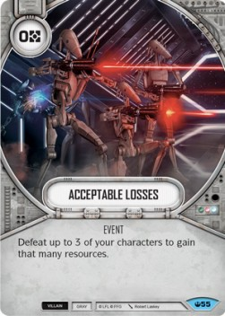 Acceptable Losses