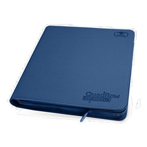 Quadrow Zipfolio Playset Binder (Dark Blue)