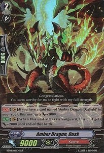 Amber Dragon, Dusk [G Format] (Version 2 - Double Rare)