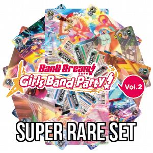 Set de Super Rare de BanG Dream! Girls Band Party! 2