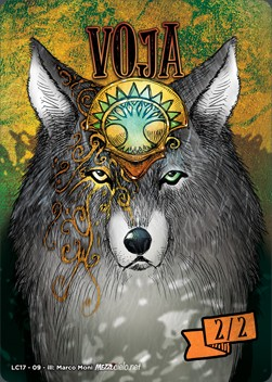 Voja Wolf Token (Green and White 2/2)