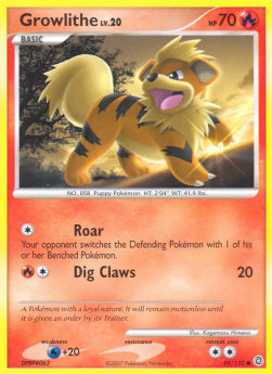 Growlithe Lv.20