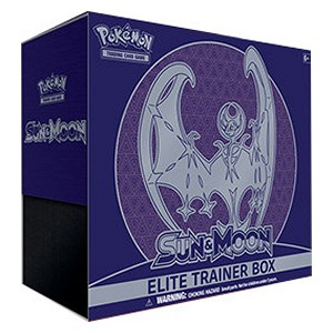 Elite Trainer Box de Sol y Luna (Lunala)