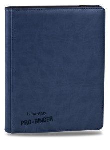 Ultra Pro Premium Pro Binder 9-Pocket Binder (Blue)