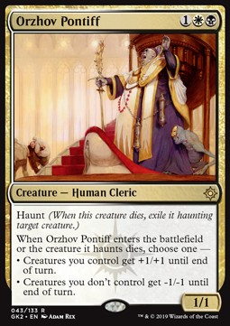 Orzhov Pontiff All Ver Mtg Cards Cardmarket Orzhov hasn't gotten much love since the release of ravnica allegiance. orzhov pontiff all ver mtg cards