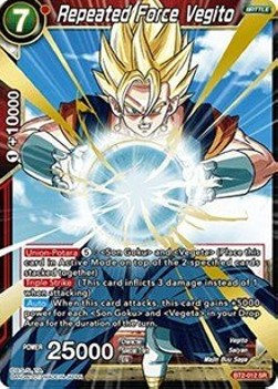 Repeated Force Vegito (Version 1 - Super Rare)